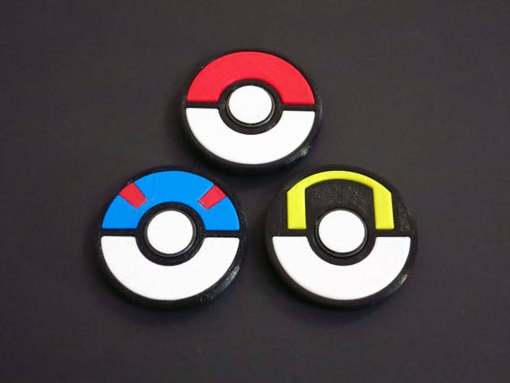 Pokemon Pokeball Great Ball Ultra Classic Fidget Spinner