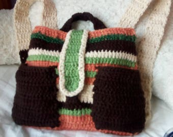 Nature Colors Backpack~With Phone Sized Side Pockets