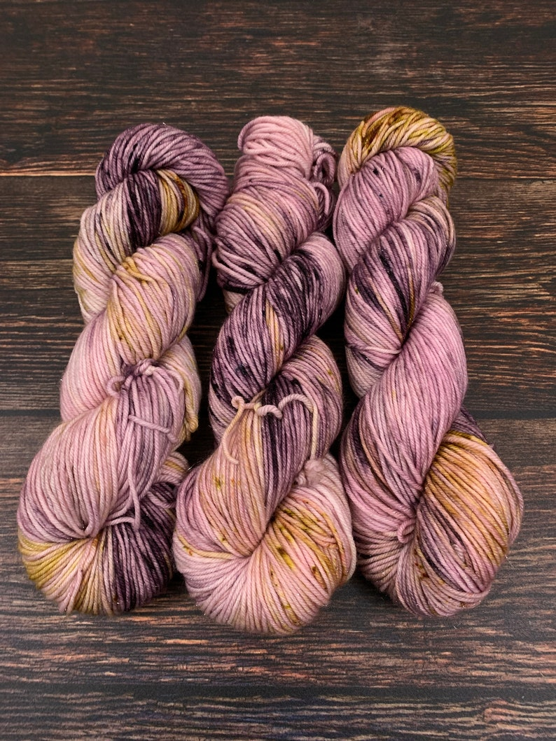 Hand Dyed Yarn Mansfield Park Ready to Ship