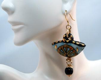 "Traditional Sicilian Earrings ""Coffa"""