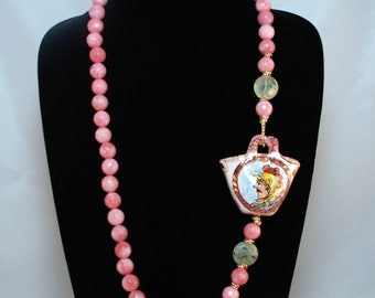 Traditional Sicilian Coffa Necklace