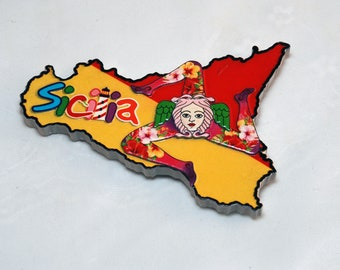 Traditional Sicily Magnet
