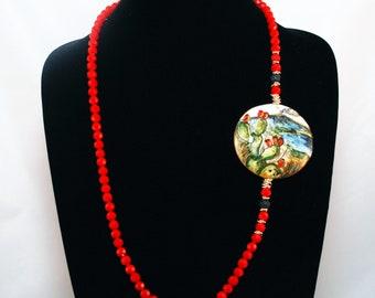 Traditional Sicilian Etna Necklace