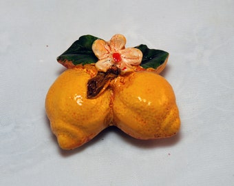 Traditional Sicilian Lemon Magnet