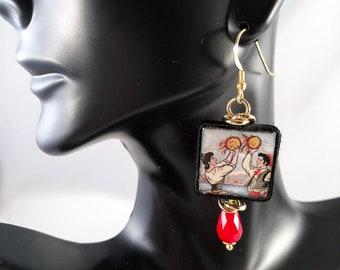 Traditional Sicilian Earrings