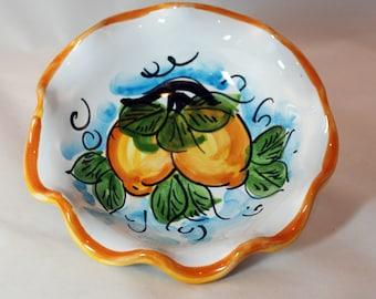 Sicilian Decorative Lemon Small Bowl