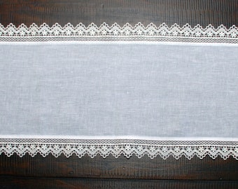 Sicilian Linen Table Runner Set