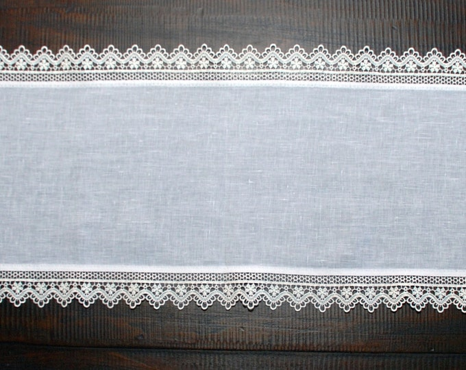 Featured listing image: Sicilian Linen Table Runner Set