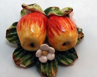 Traditional Sicilian Apple Magnet