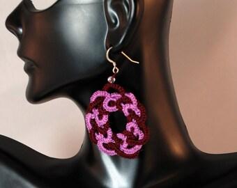 Traditional Sicilian Crochet Earrings