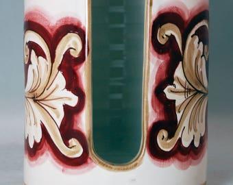 Decor Sicilian Ceramic Cup Holder