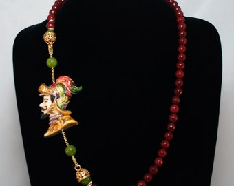 Traditional Sicilian Knight Necklace