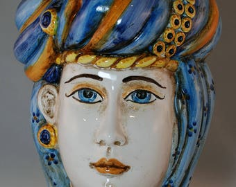 "Traditional Sicilian Head ""Princess"""