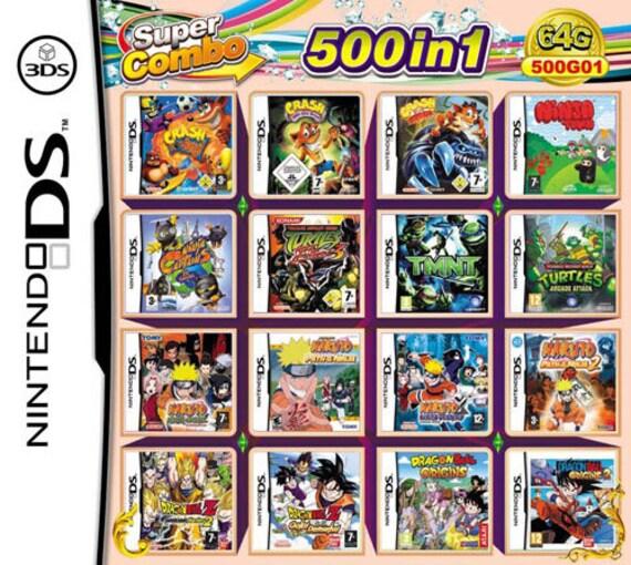 Nintendo DS 500 in 1 Video Game Cartridge - NDS Multi Cart