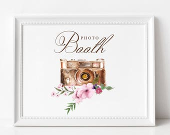 Wedding Photo Booth Sign | Wedding Photo Booth Signage | NO FRAME, Style #2171