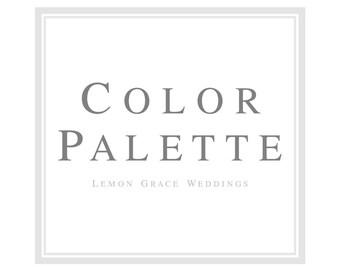 Lemon Grace Color Palette