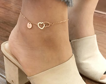 Jewelry & Watches Letter C Anklet Silver In Colour