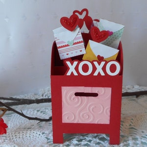 Girlfriend Hearts for Days Anniversary Box Card Hearts Card in a Box Handmade Cards for Him /& Her Boyfriend Blank Love Cards Fiance