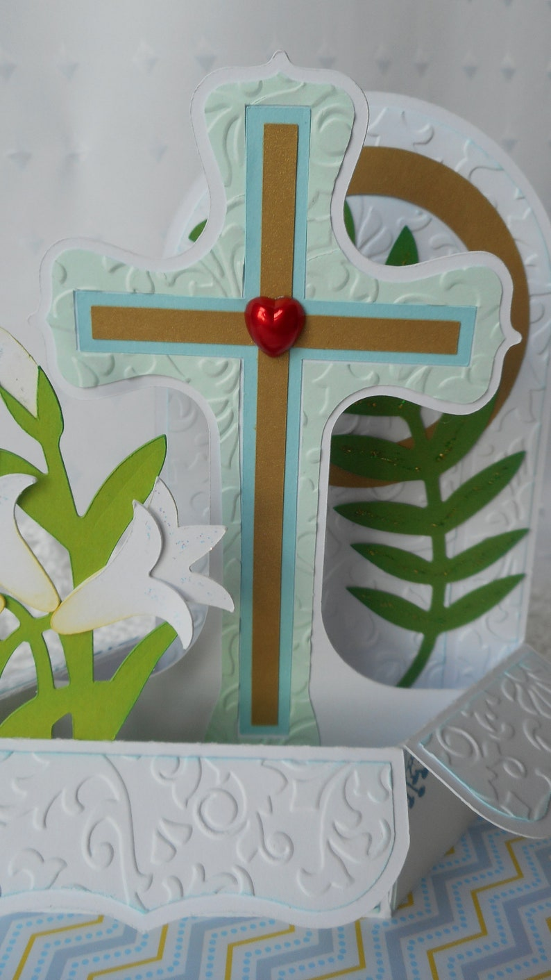 Homemade Blank 3D Cards for Children Handmade Blank Greeting Cards Children/'s 3D Easter Cards Kid/'s Cards Easter Sunday Pop-Up Box Card
