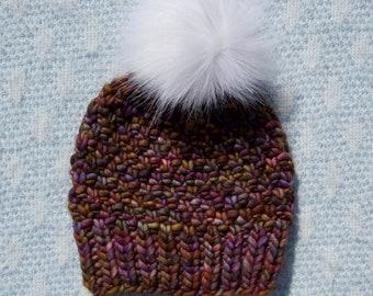 PATTERN // The Elizabeth Beanie // Irish Moss Stitch Beanie Pattern // Knit Pattern // Hat Pattern // Knit Hat Pattern / Knit Beanie Pattern