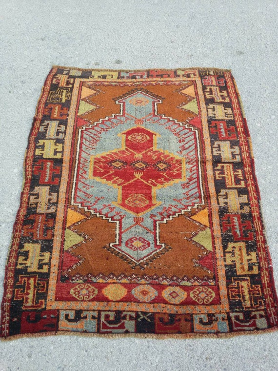 Turkish Oushak Rug Large Oushak Rugturkish Vintage Rugfloor Etsy