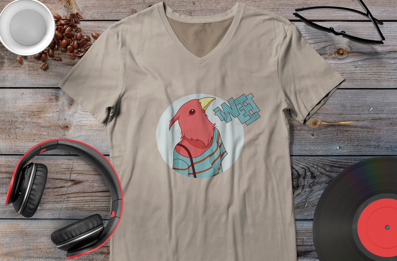 Hipster Animals  Bird Tweet Tshirt