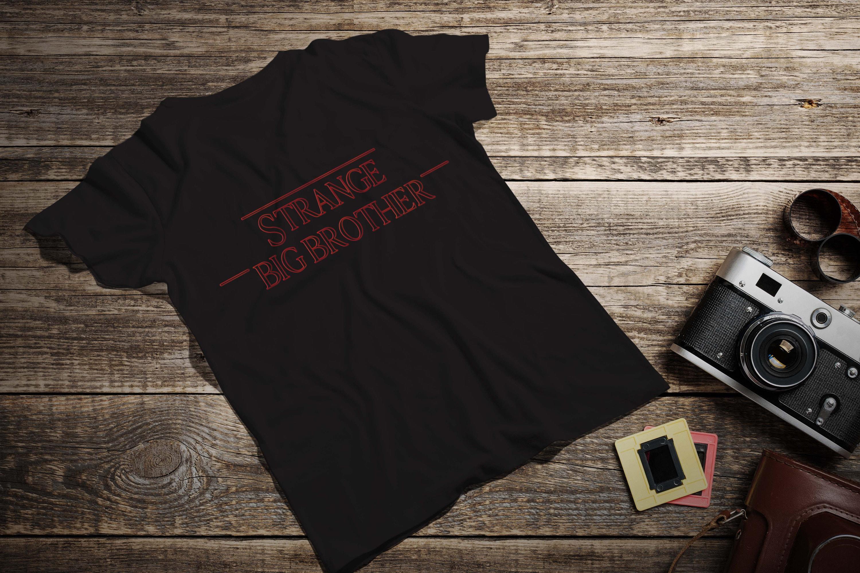 Stranger Things Strange Big Brother Parody T-shirt