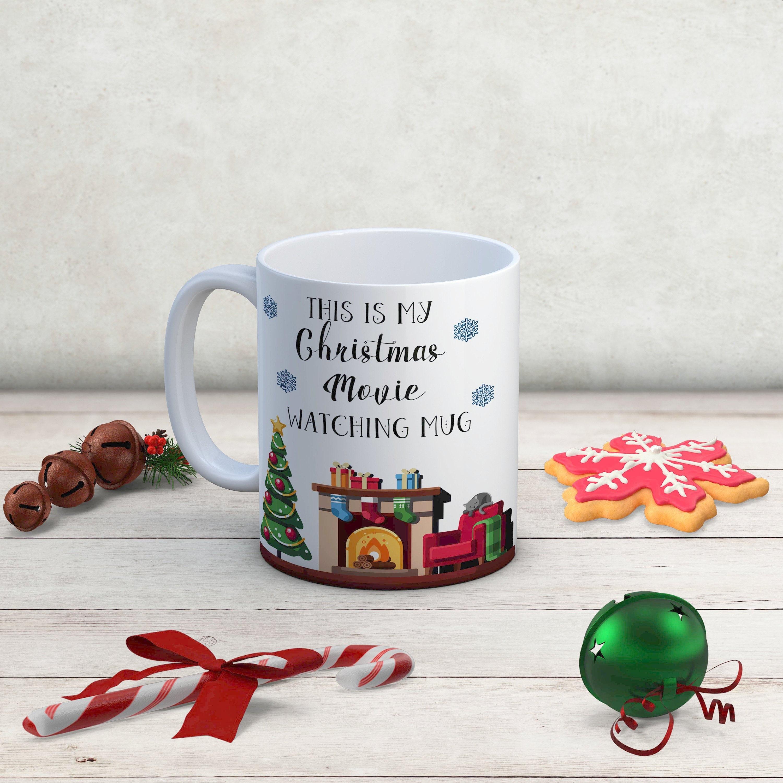 Christmas Movie watching Mug