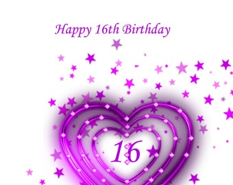 Like a Daughter 16th Birthday Card