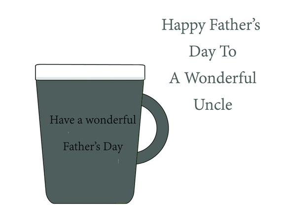 Uncle Fathers Day Card