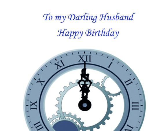 Husband Birthday Card t