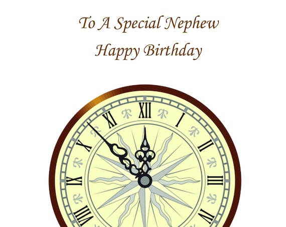 Nephe Birthday Card t