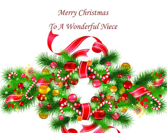 Niece Christmas Card 1
