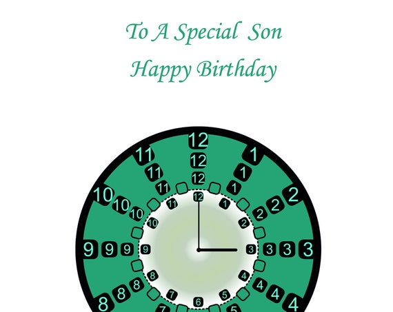 Son Birthday Card t