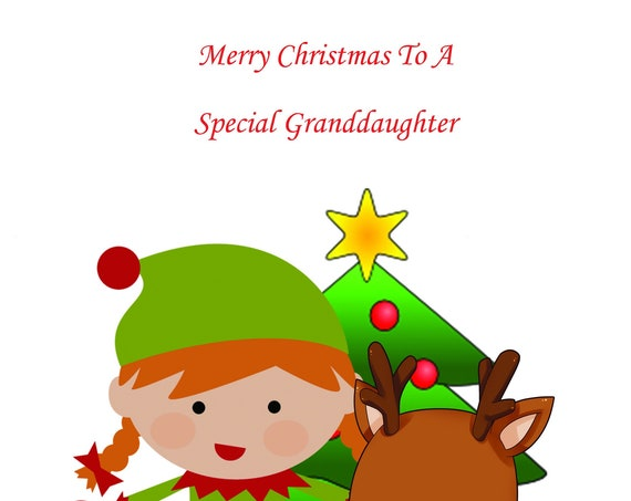 Granddaughter Christmas Card 2