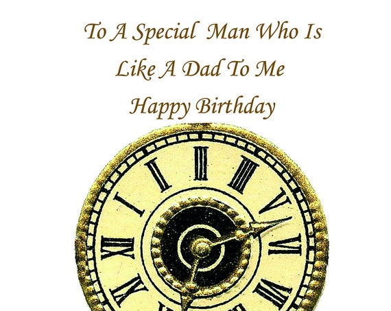 Like a Dad Birthday Card t