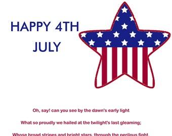 4th July Card 2