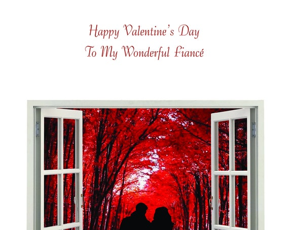 Fiance Valentine's Card new design
