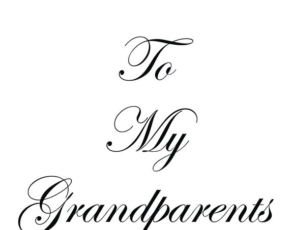 Grandparents It's a Granddaughter with keepsake laminate in a surprise envelope inside