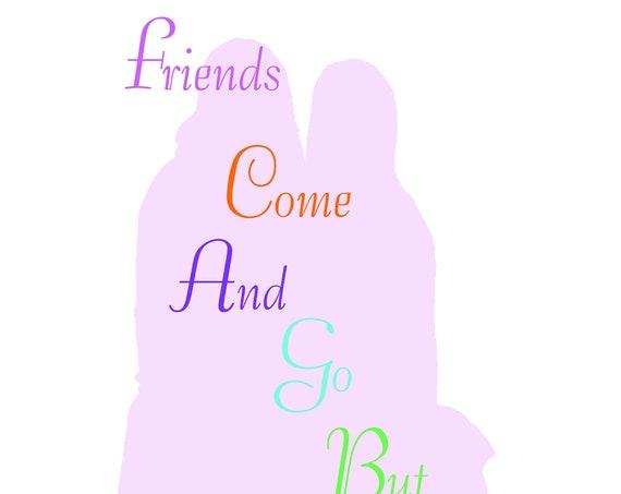 Friend quote Card (design 4)