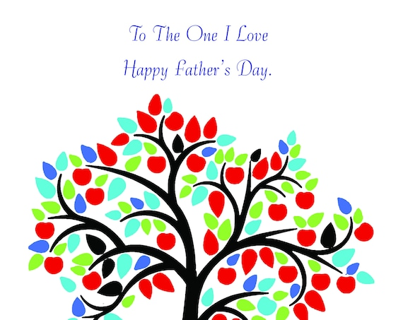 One I love Father's day card