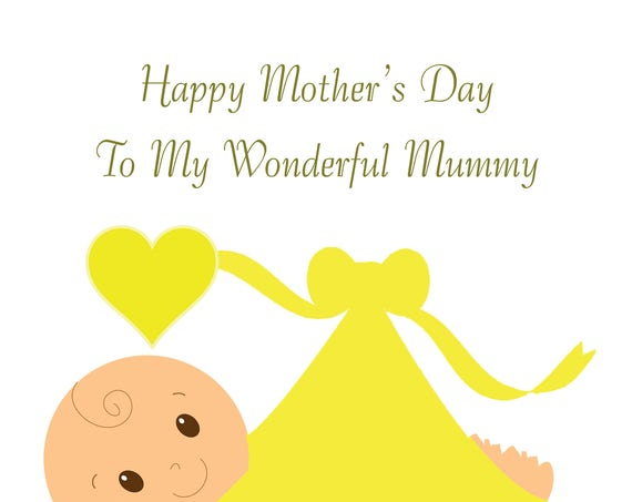 From the Bump Mothers Day Card Neutral