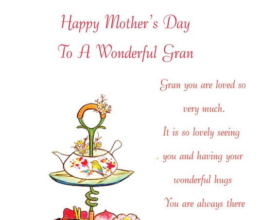 Gran Mothers Day Card 2