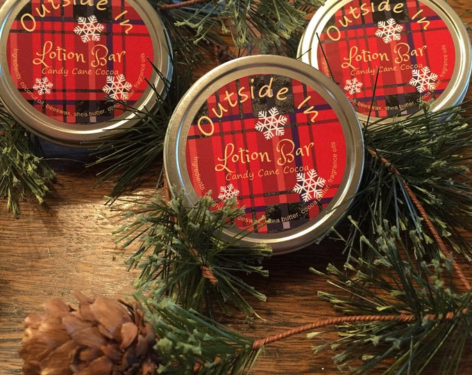 Candy Cane Cocoa Lotion  Bar