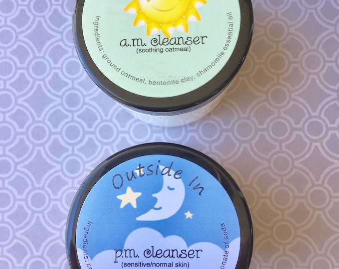 A.M. and P.M. Facial Cleansers