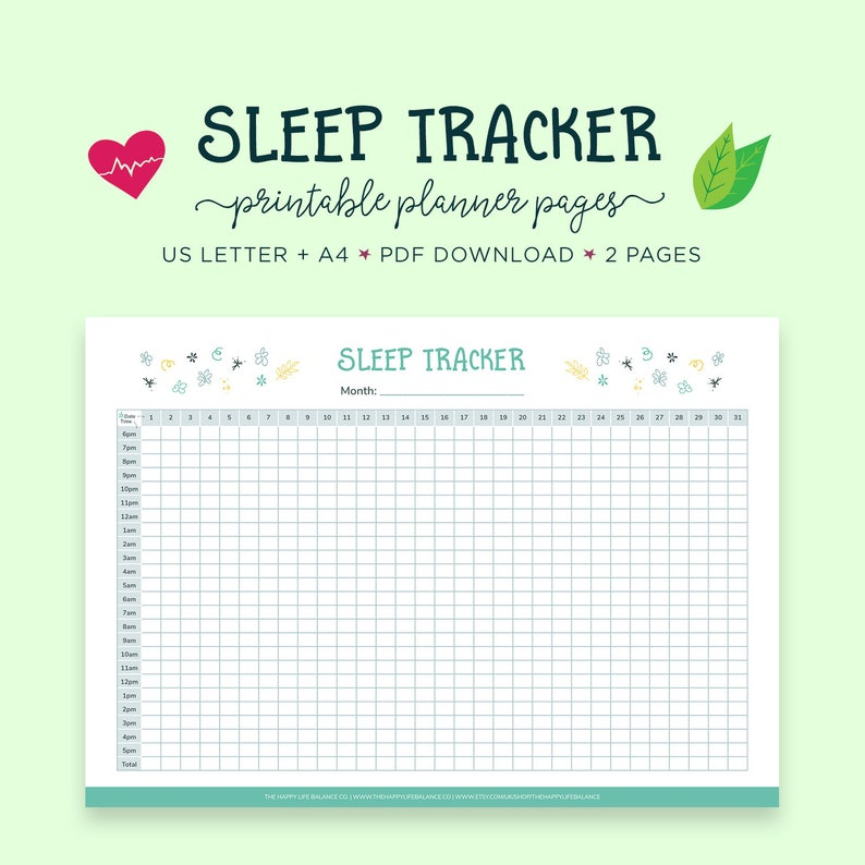picture relating to Sleep Tracker Printable titled Slumber Planner, Slumber Tracker, Fitness Magazine, Wellness Planner, Exercise Planner, Self Treatment, Day by day Behavior Tracker, Rest Magazine, Slumber Log