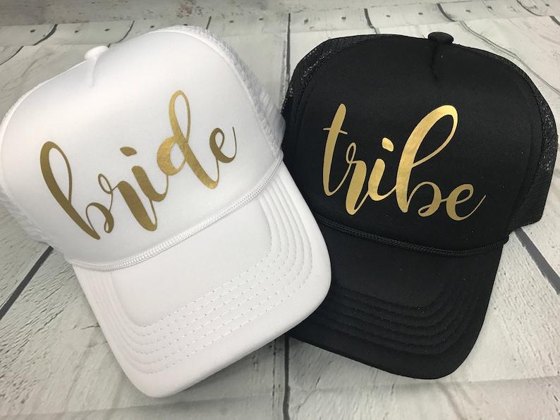 29d37bd8cb48e Bride Squad Hats   Bride Tribe Hats   Bachelorette Party