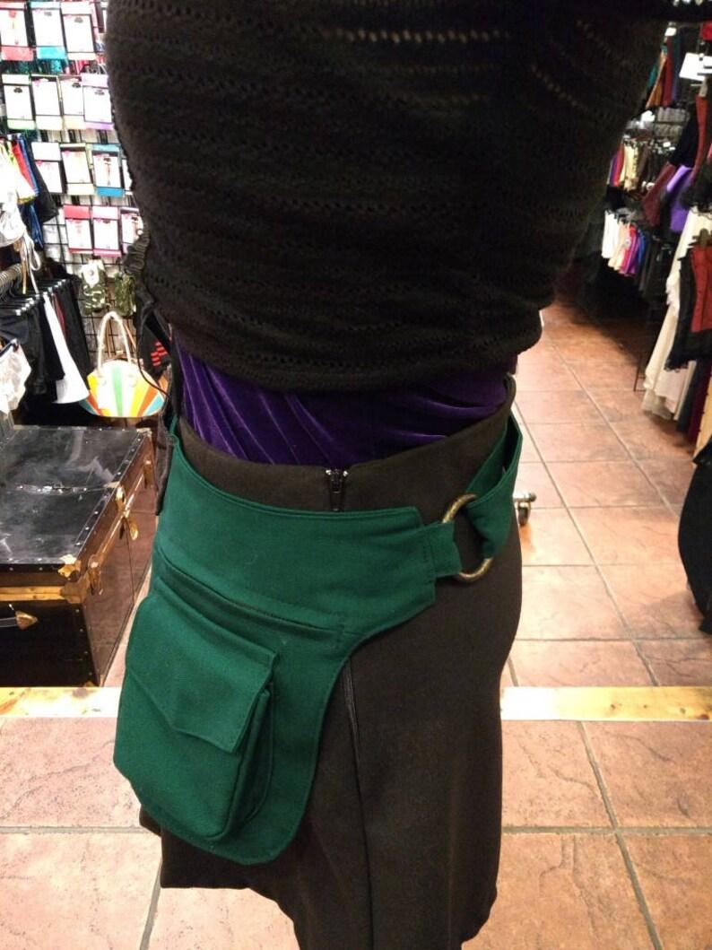 Vegan Green Festival Pocket Belt