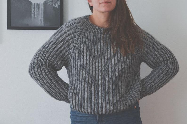 FLCTY Sweater Pattern 7  Top Down Brioche image 0