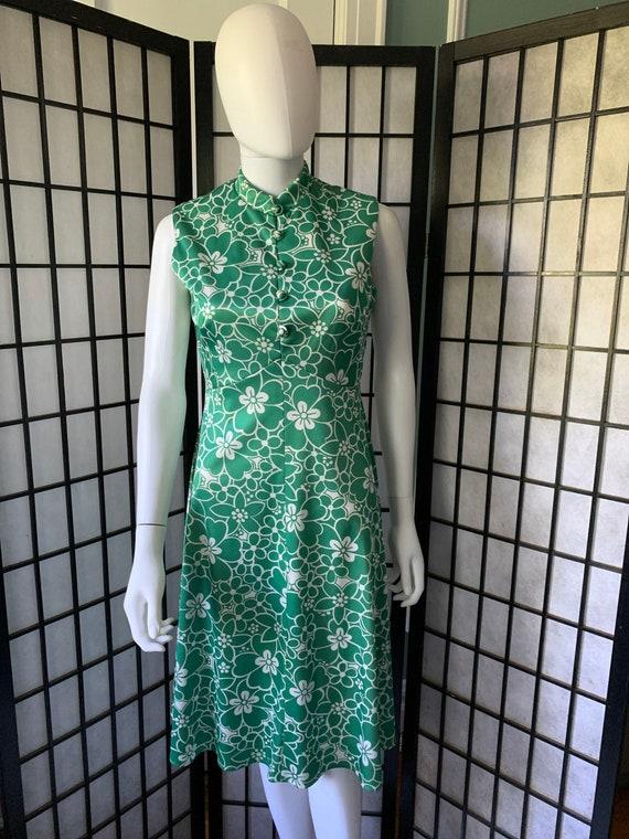 Emilio Borghese 1970s Mod Dress
